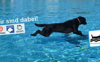 Hunde im Freibad am 17.09.2016 – wir sind dabei