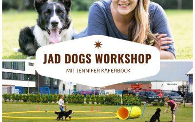 JAD DOGS Workshop mit Jennifer Käferböck